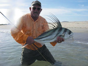 Fly fishing for Professional fish keepers